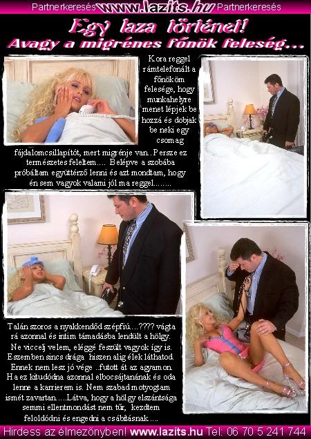 A migrénes főnök feleség